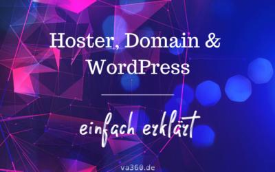 Hoster, Domain & WordPress – einfach erklärt für Einsteiger